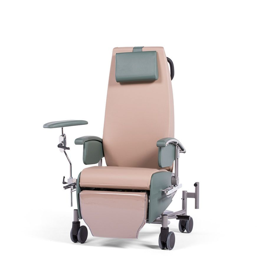 Transport- og behandlingsstol