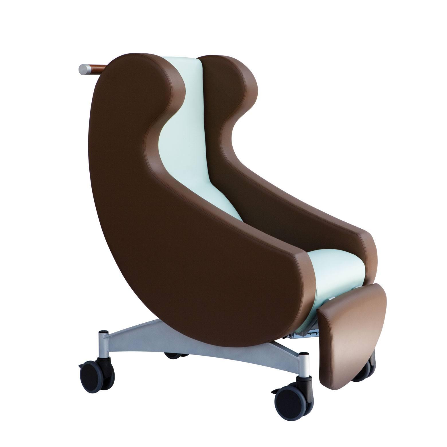 Hvilestol i tryghedsskabende design