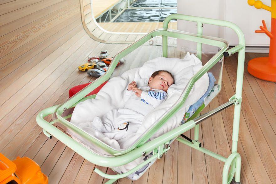 Krybbe til nyfødte