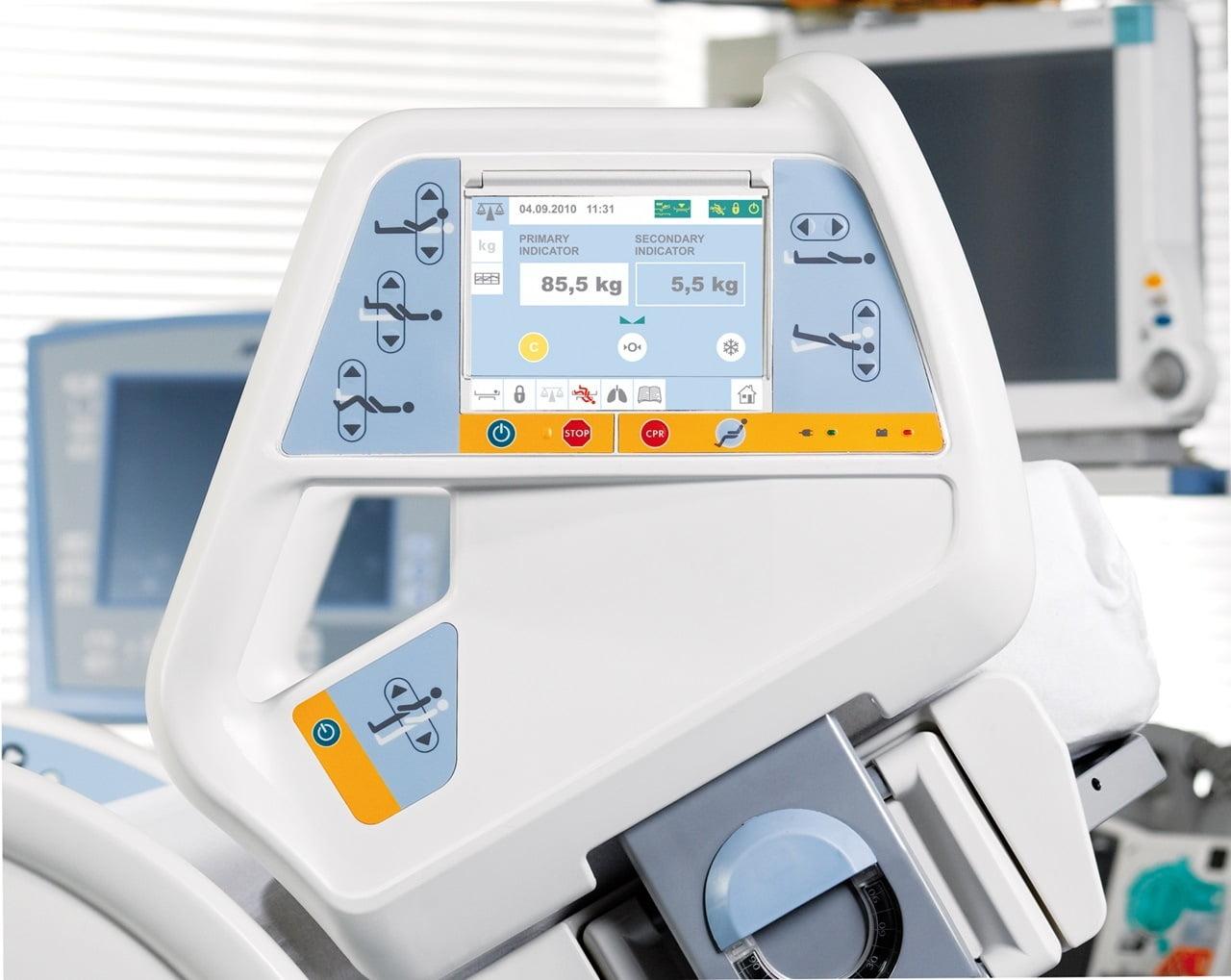 Multicare intensivseng med terapifunktioner - indbygget vægt