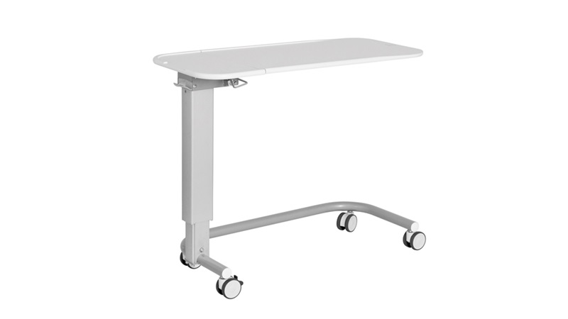 Sengebord med spiseplade