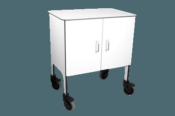 Akustik og hospitalsinventar mobilarbejdsplads fra Zilent