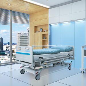 Hospitalssenge fra Alcyon vaskbar IP66