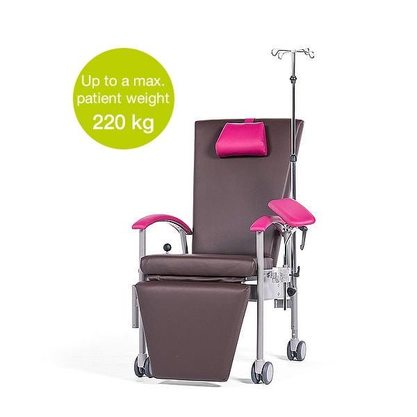 SITA multifunktionel prøvetagningsstol til hospital