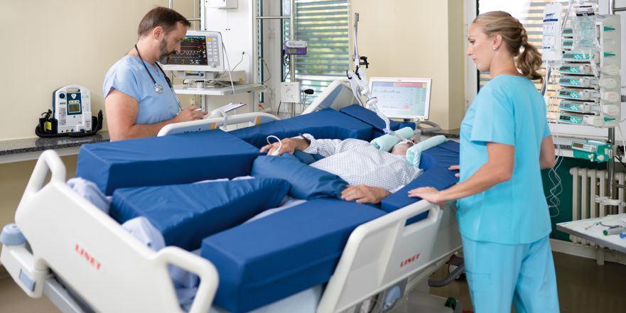 Lungeventilation af respiratorpatienter