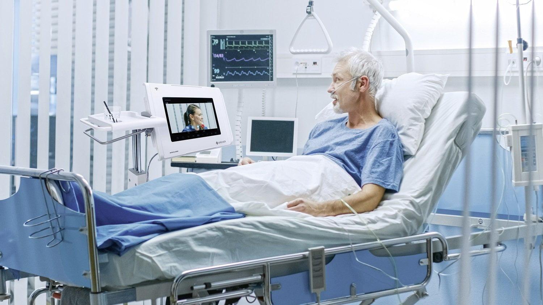 Den gode patientoplevelse med smart media table
