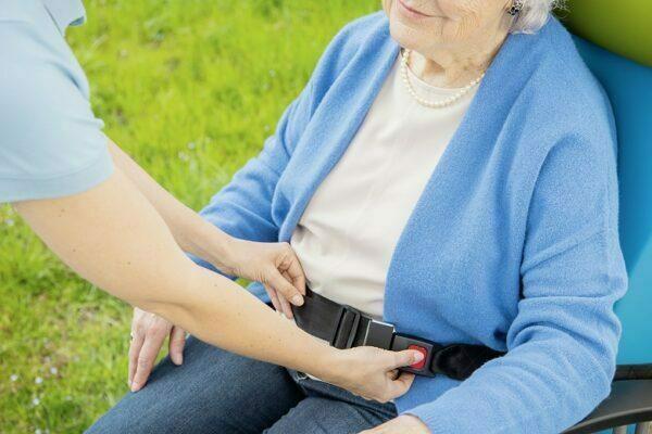 Carryline udendørs transportstol til plejehjem