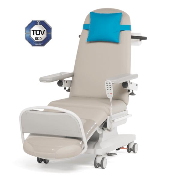 CE godkendt Dialysestol Behandlingsstol til Dialyse