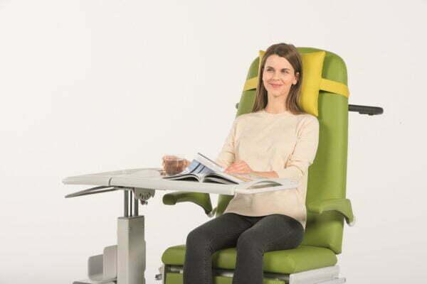 Behandlingsstol og Patientstol