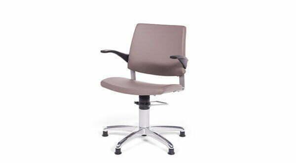 Prøvetagningsstol med 5 stjernet fod