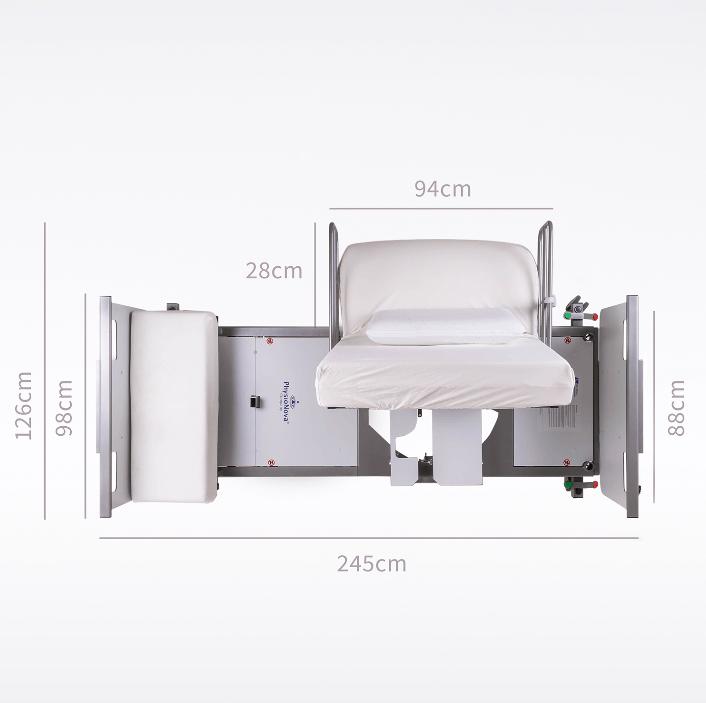 RotoFlex placering af seng